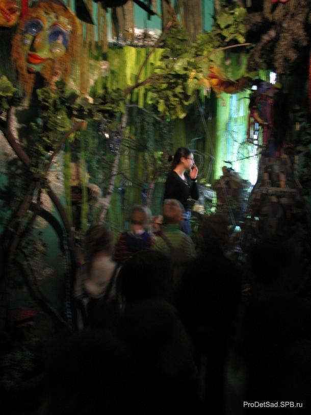 сказочный лес в музее кукол