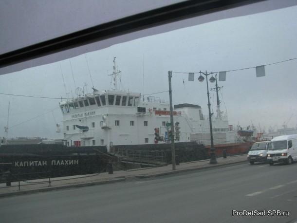 капитан Плахин на Неве