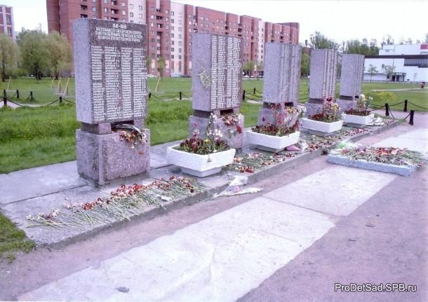 Имена погибших бойцов во время ВОВ