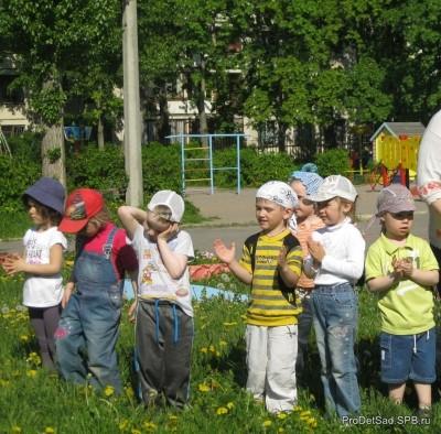 Лето. Стихотворение про музыку в детском саду
