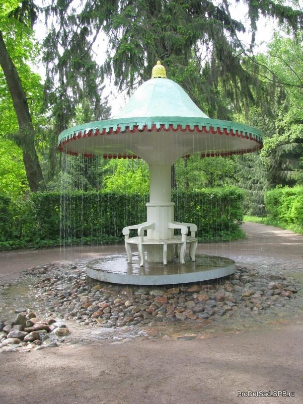 фонтан беседка