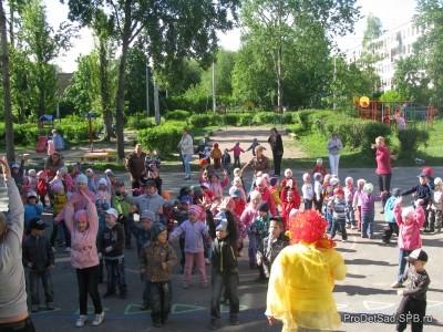 День защиты детей  - 1 июня в детском саду