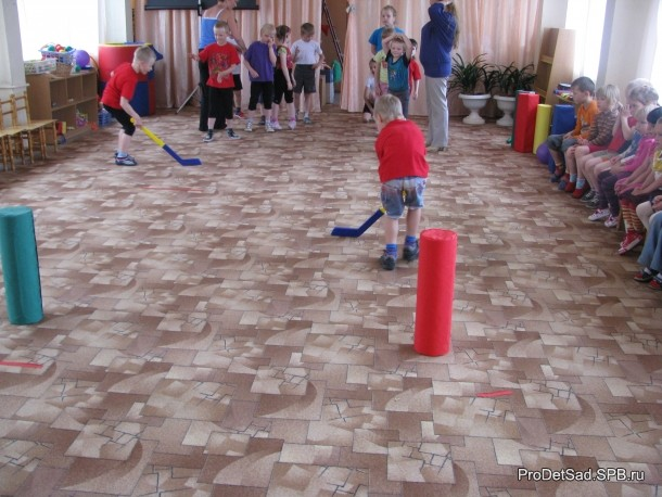 эстафета хоккейная