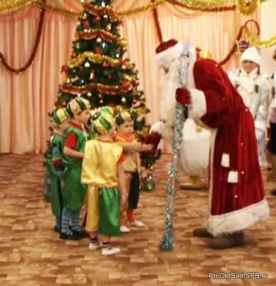 Дед Мороз и гномы