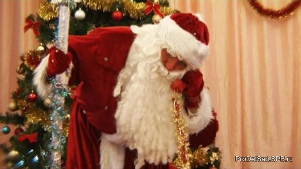 Дед Мороз и телефон