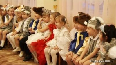 Утренник новогодний для детей младшего дошкольного возраста