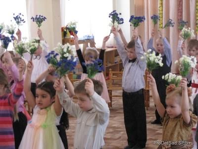 """Сценарий музыкального досуга с детьми """"Веснянка"""""""