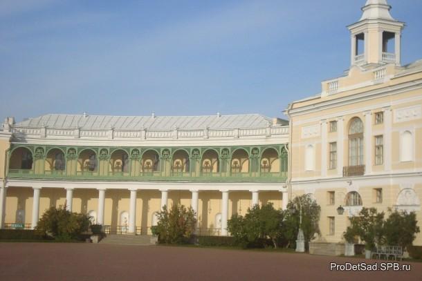 Павловск дворец колонада