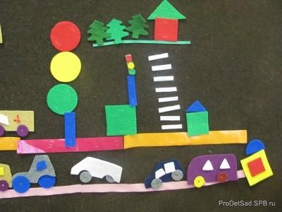 Правила дорожного движения для дошкольников