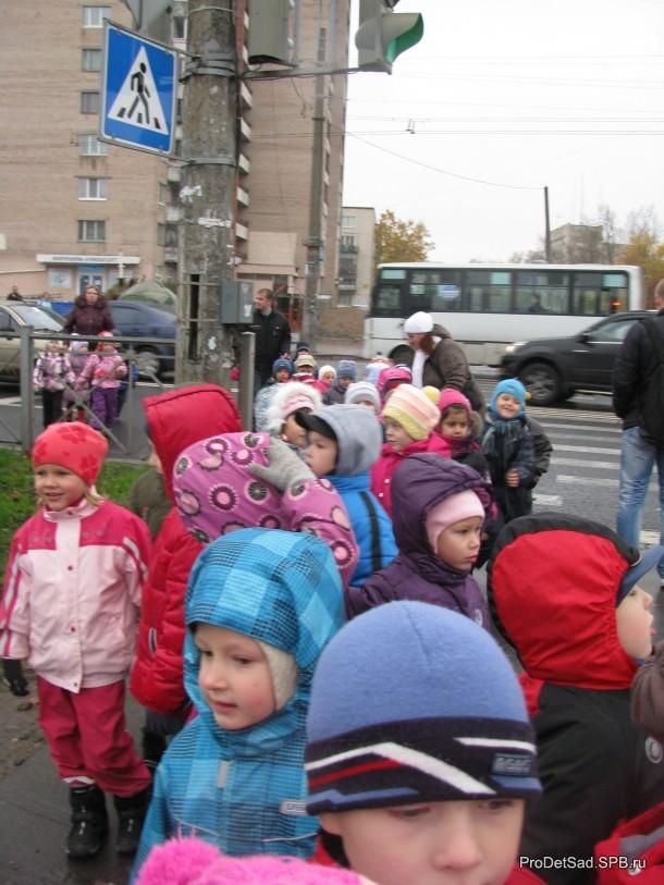 пешеходный переход и дети