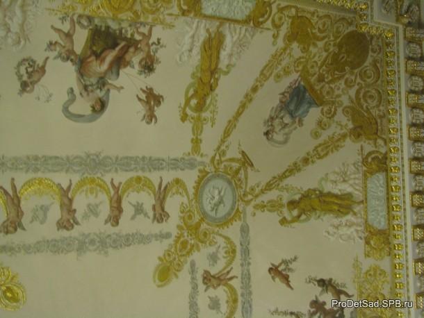 роспись потолок 1