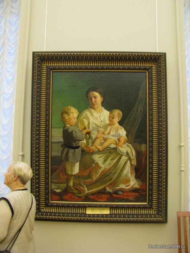 мама и дети