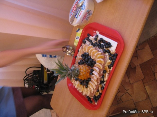 Торт смурфов