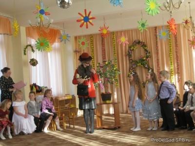 Сценарий праздника к дню 8 марта - старшие дошкольники