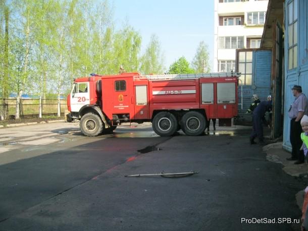 Выезд пожарной машины
