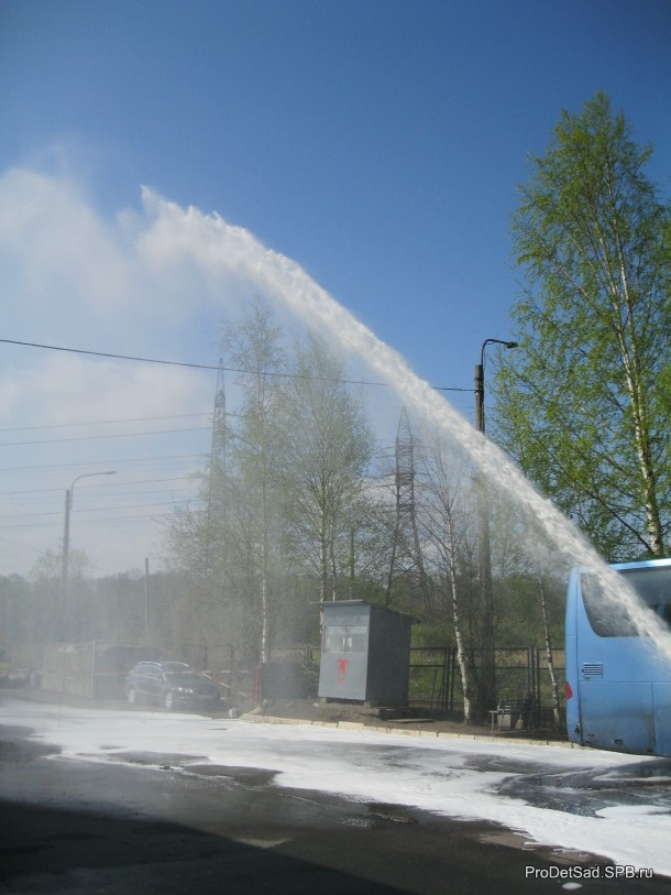 Тушение водой