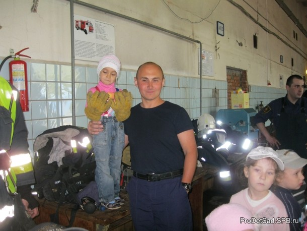 Мой папа - пожарный