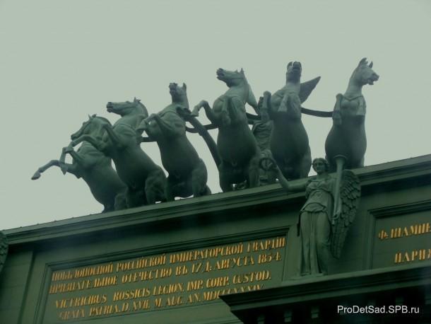 Кони на Нарвских воротах