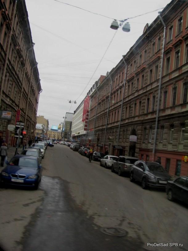 улица Красных Фонарей в Санкт-Петербурге