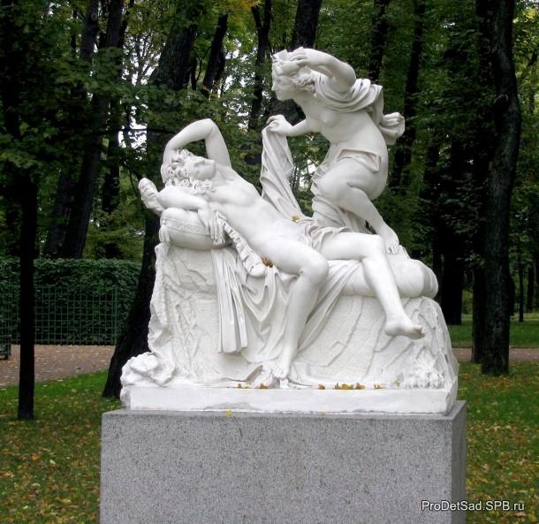 Летний сад - Амур и Психея