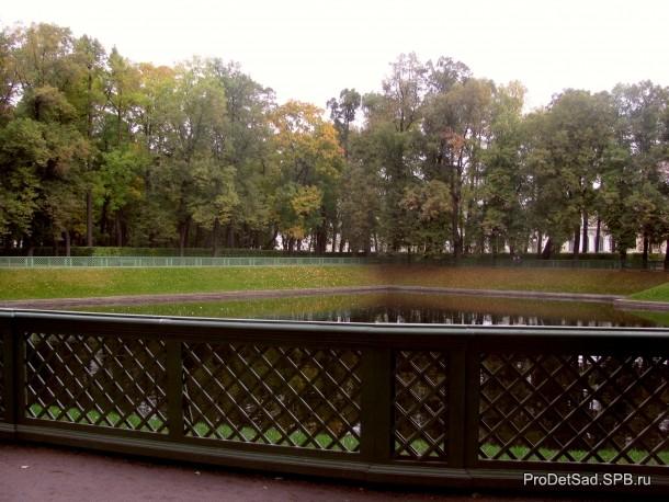 Лебединый пруд в Летнем саду