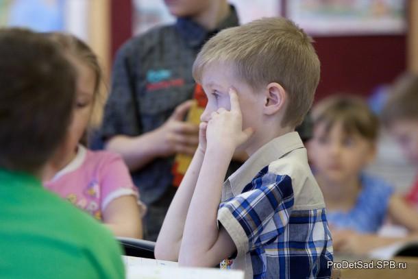 Ребенок думает и решает